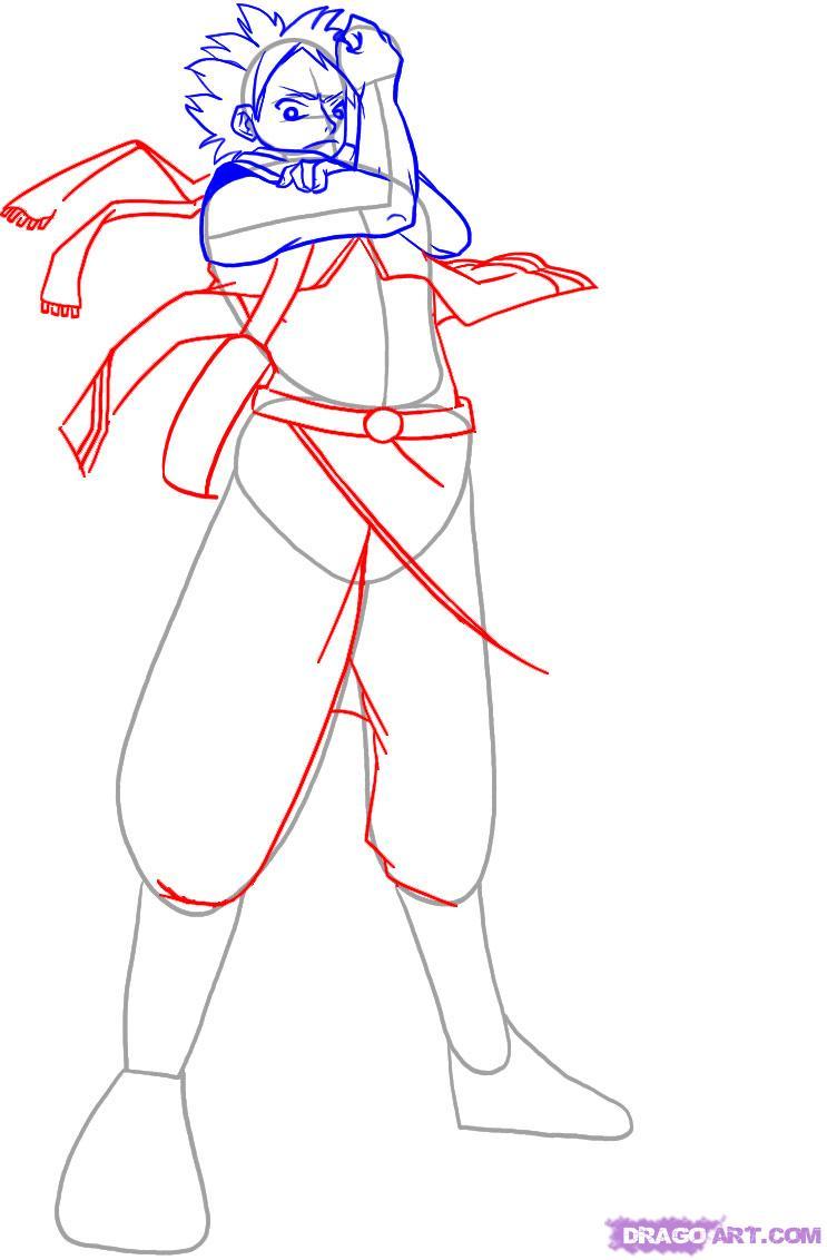 Drawn scarf anime Draw 4 to Step draw