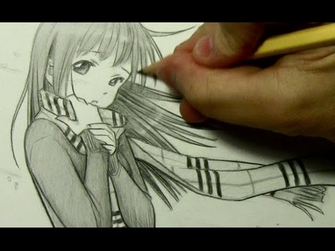 Drawn scarf chibi  Scarf: with YouTube Girl