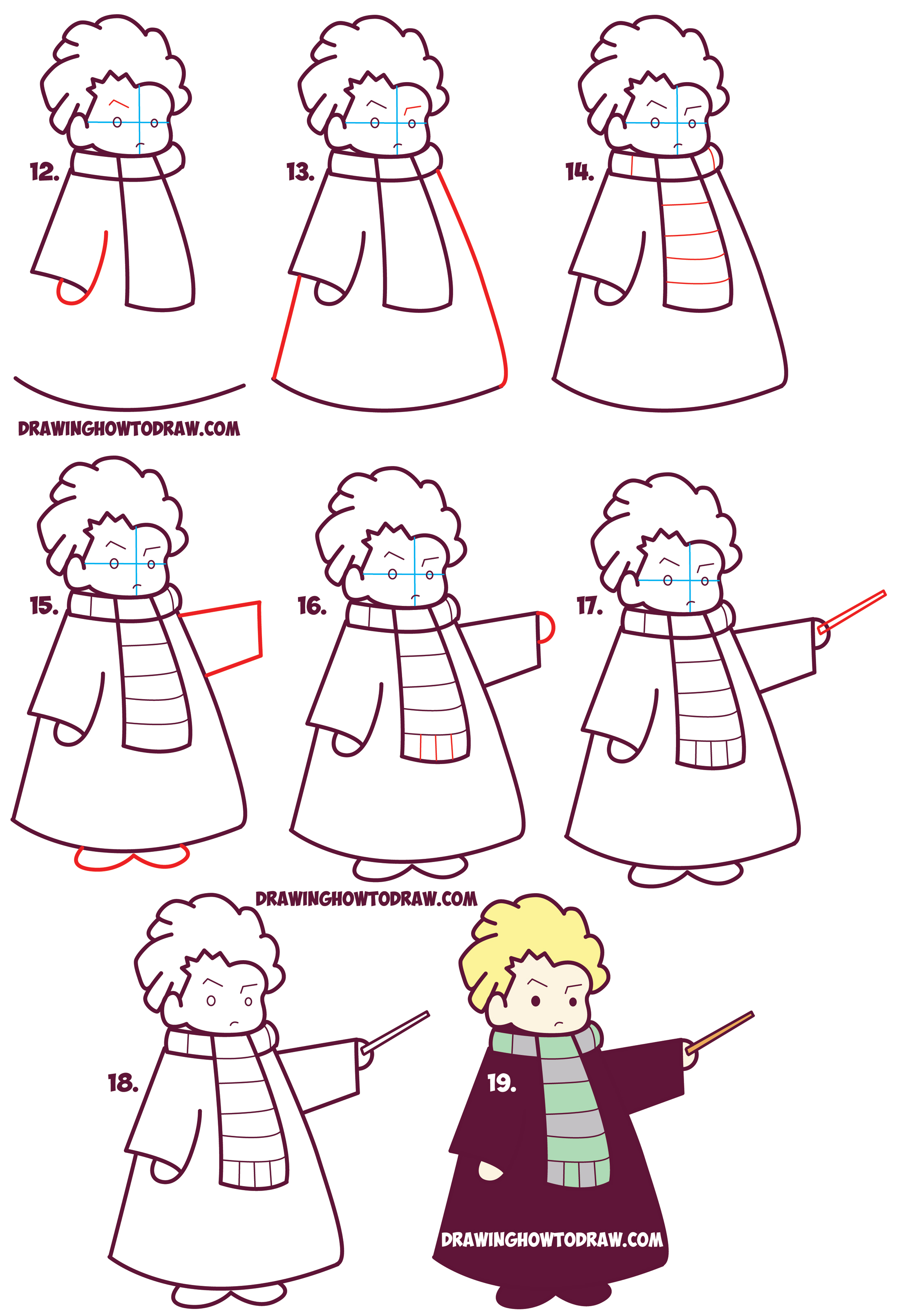 Drawn scarf female Cute Draco Potter from to