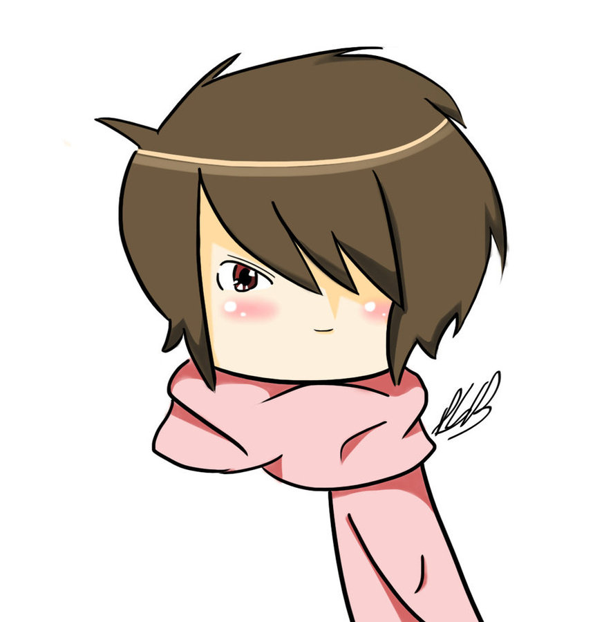 Drawn scarf chibi Scarf oopses66 by on Headshot
