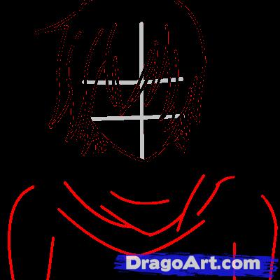 Drawn scarf chibi How draw kaito Anime Kaito