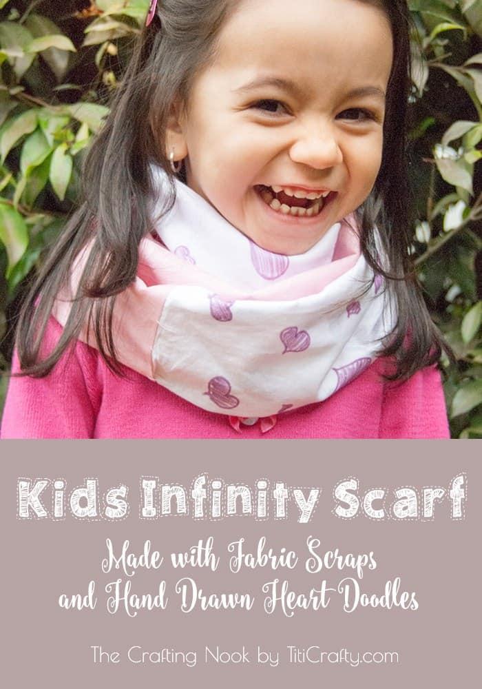 Drawn scarf child Week by Scarf Crafting Infinity