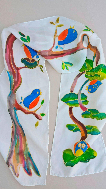 Drawn scarf child USD 95 The Shop Silk