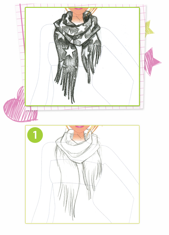 Drawn scarf fashion scarf This DRAW: Scarf Up A