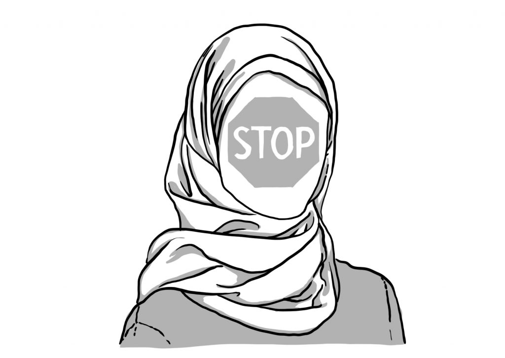 Drawn scarf head scarf The on CJEU's or Not