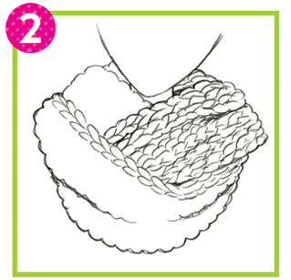Drawn scarf infinity scarf Some you forget three outline