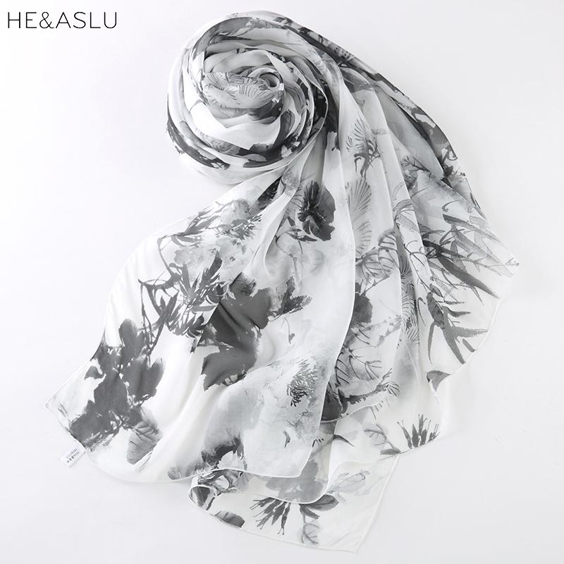 Drawn scarf organza Dual Scarves use Organza Scarf