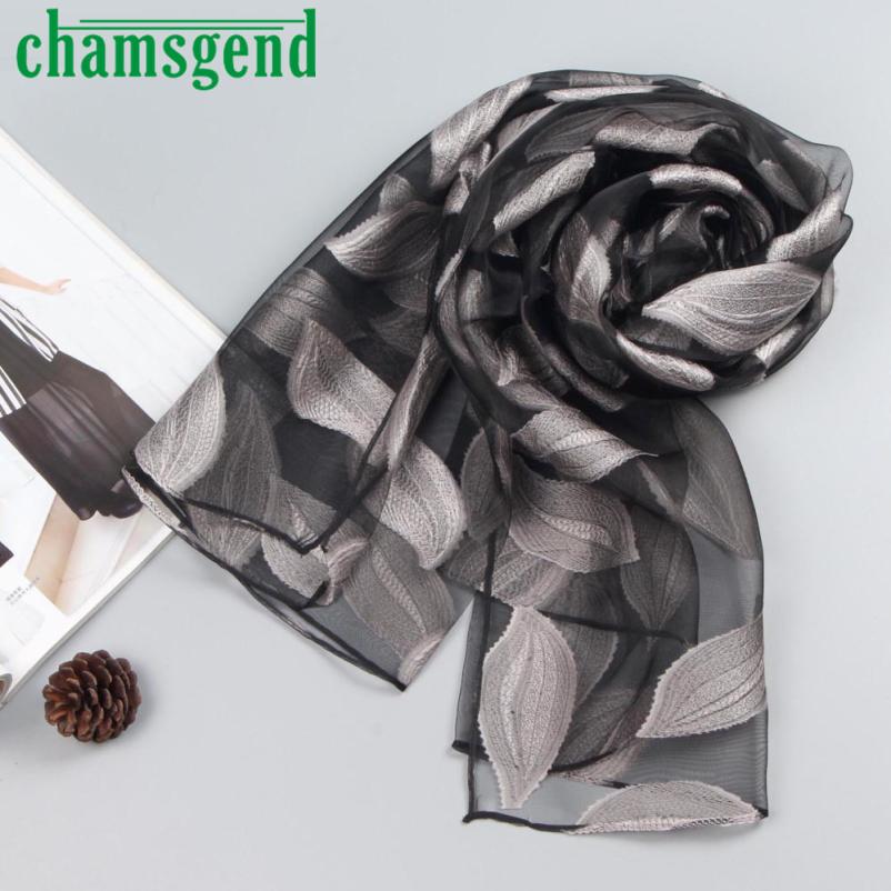 Drawn scarf organza Wrap Drop scarf elegant Soft