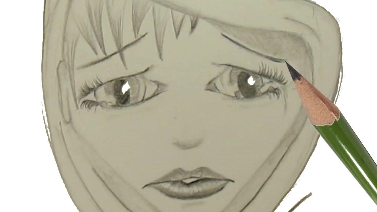 Drawn scarf sad Draw to Anime Hood YouTube