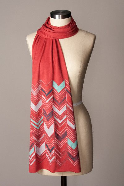 Drawn scarf screen Chevron Chevron Backyards screen *
