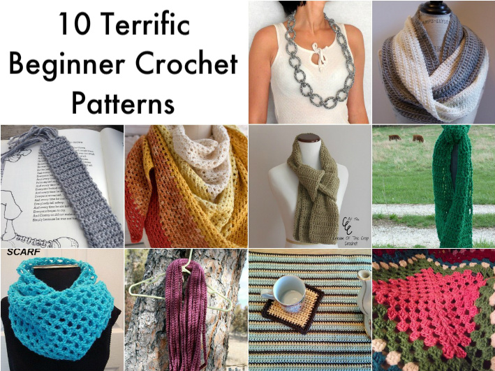 Drawn scarf simple Don't require crochet patterns Beginners