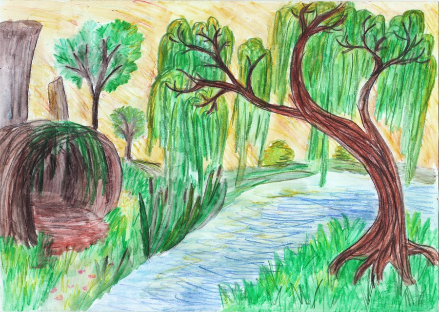 Drawn scenery By DeviantArt kxeron Fast kxeron