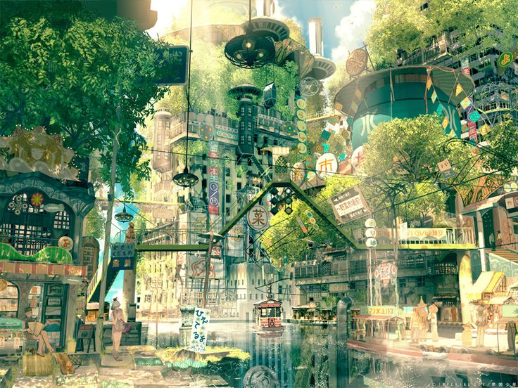 Drawn scenery anime Best Past about Revisited: Future