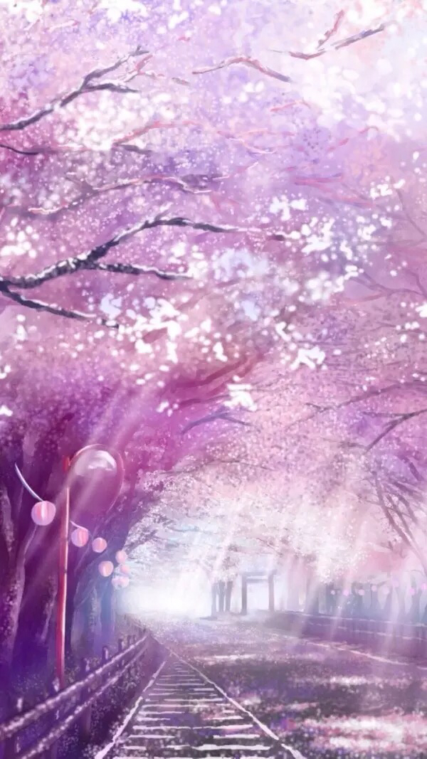Drawn scenery anime Be Anime colourful scenery my