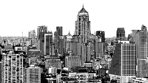 Drawn scenery architecture city WeLoveSoLo scenery city Drawing