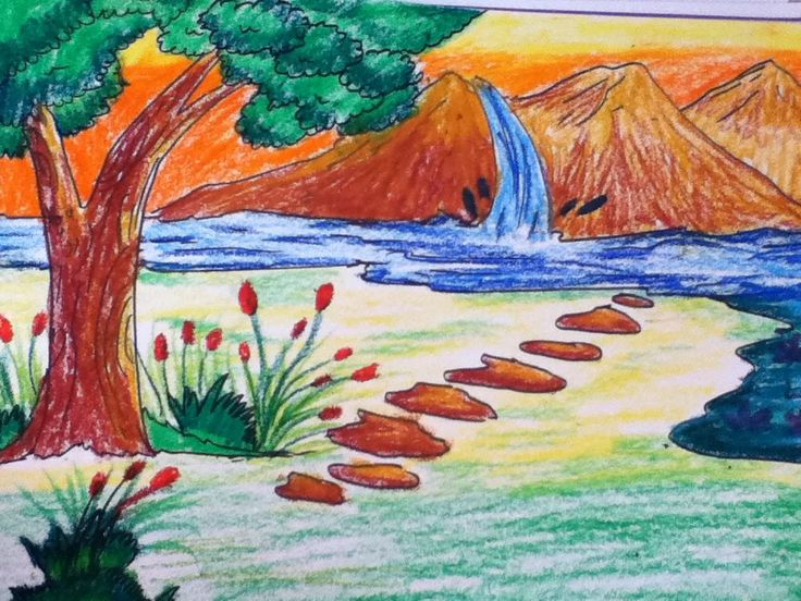 Drawn scenery art Find scenery beautiful scenery Fantasy