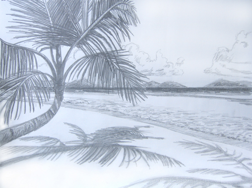 Drawn scenery beach Beaches drawings beaches Search drawings