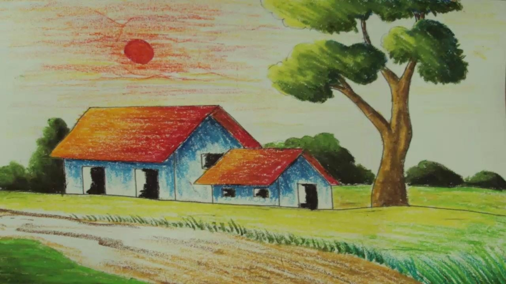 Drawn scenery beginner Landscapes For Scenery Scenery Drawing