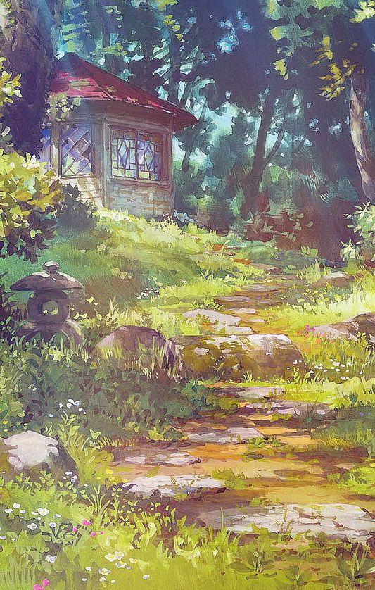 Drawn scenery boy On art Pinterest  ideas