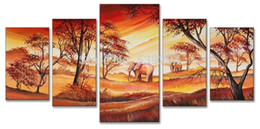 Drawn scenery canvas Elephant FA022 Elephant Elephant canvas
