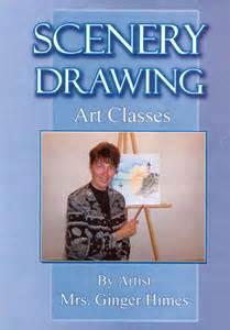 Drawn scenery class 3 Scenery by step Media tutorial