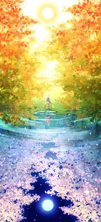 Drawn scenery cute It is cute cute is