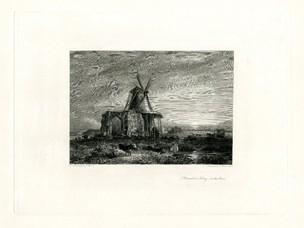 Drawn scenery norfolk Resting Scenery  windmill Abbey