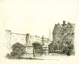 Drawn scenery norfolk Towards of stand Bishop British