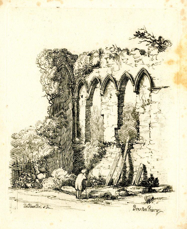 Drawn scenery norfolk Gallery: British  / Sketches