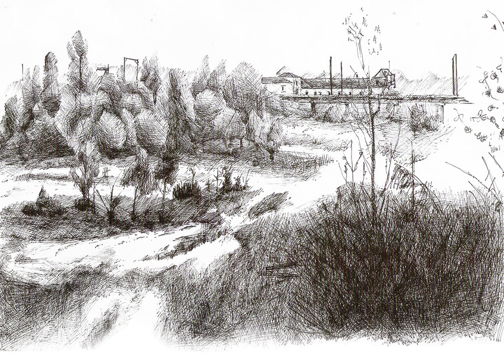 Drawn scenery park playground Park nicolasjolly Drawing DeviantArt of