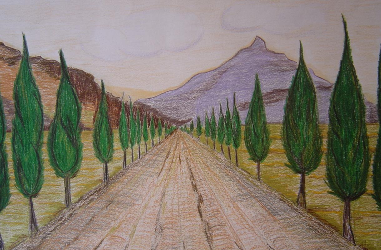 Drawn scenery perspective Art Perspective Perspective blogspot http://profpatriziafreschi