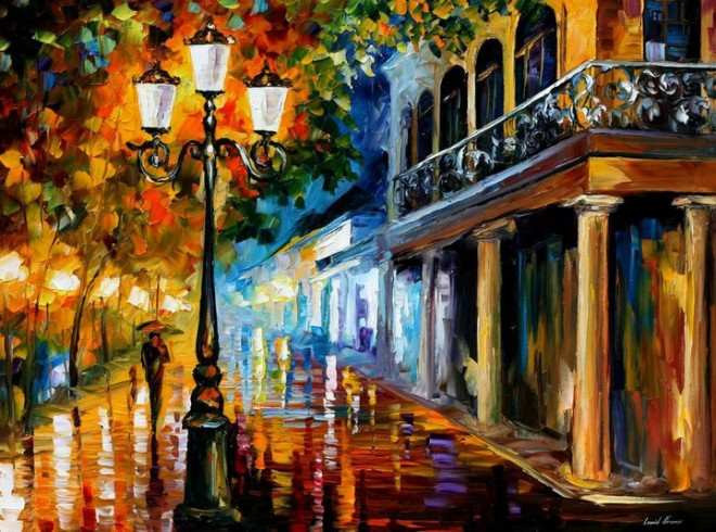 Drawn scenery poster colour Vividly Landscapes colored color (12)