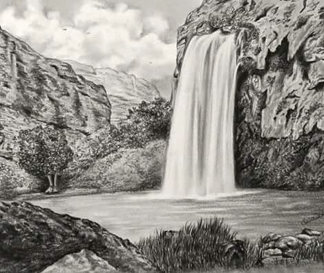 Drawn scenic amazing scenery Nature #graphite#pencil#drawing#nature#hiking videos photos My