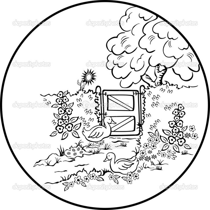 Drawn scenic amazing scenery Beautiful colouring Pages best scenic