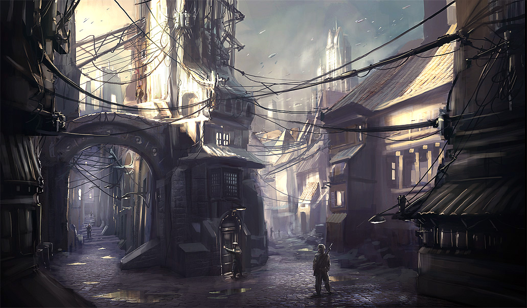 Drawn scenic anime  Scenery Outstanding Drawings
