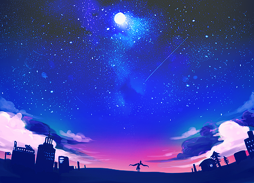Drawn scenic anime Prompts anime scenery Tumblr for