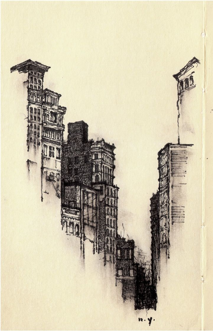 Drawn scenic architecture city Drawing To Each Moves Sketches