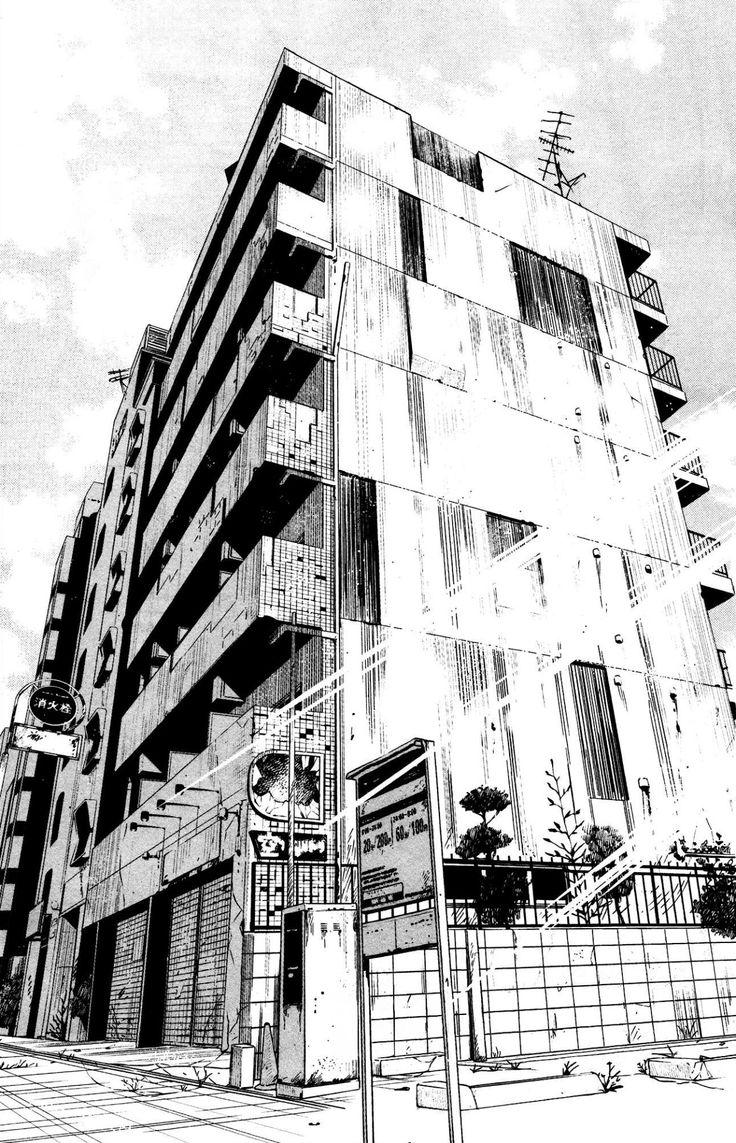 Drawn scenic architecture city Landscape Manga images on Pinterest
