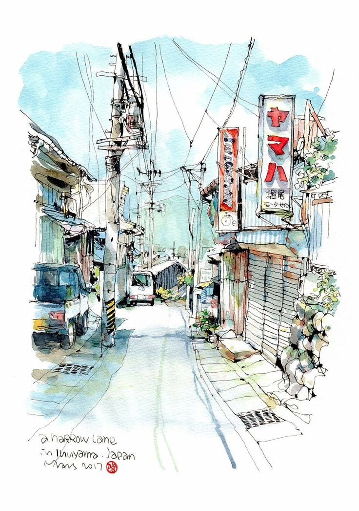 Drawn scenic architecture city By 7 images on Taiwan