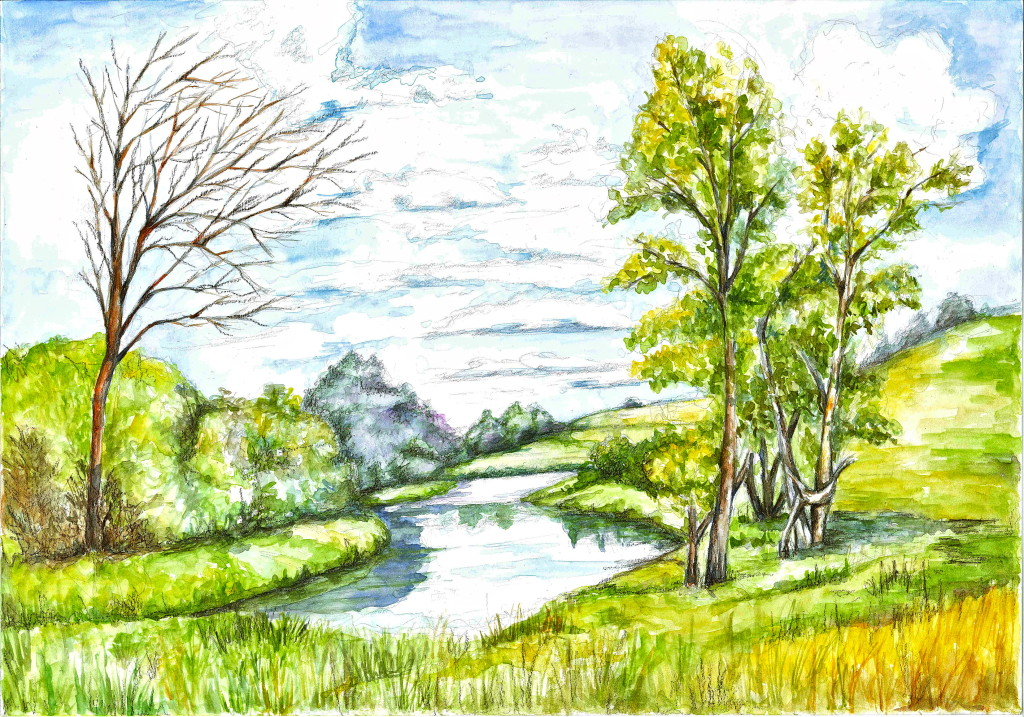 Drawn scenic beginner Blog to Draw a