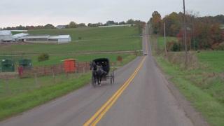 Drawn scenic boy Horse CLOSE  Amish horse