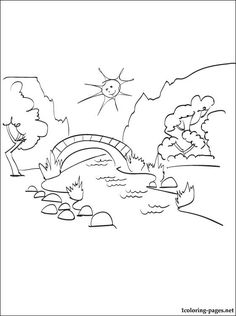 Drawn scenic boy Image for printable scenery