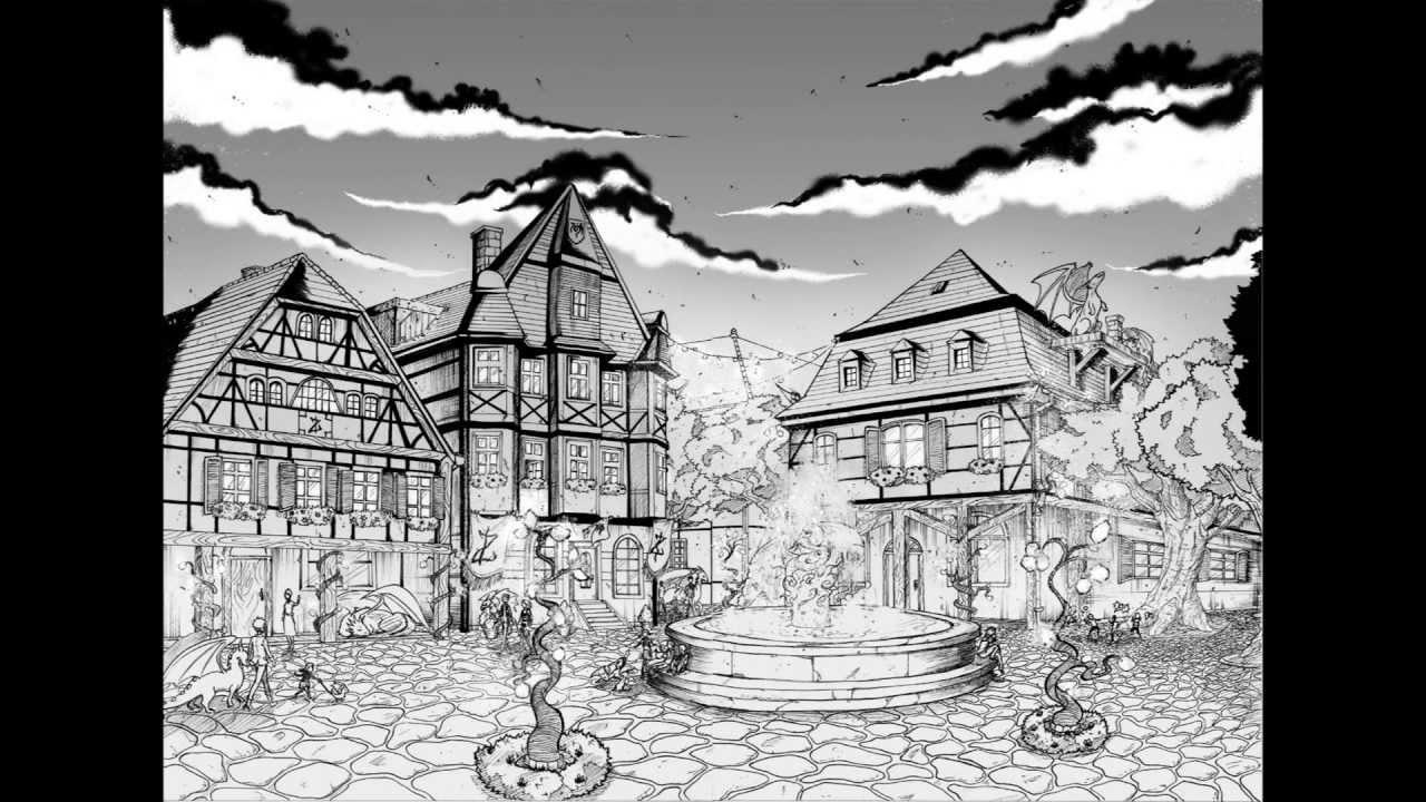 Drawn background anime #1