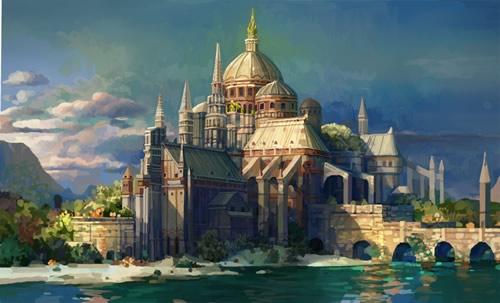 Drawn scenery castle Scenery Drawings Outstanding Scenery Drawings