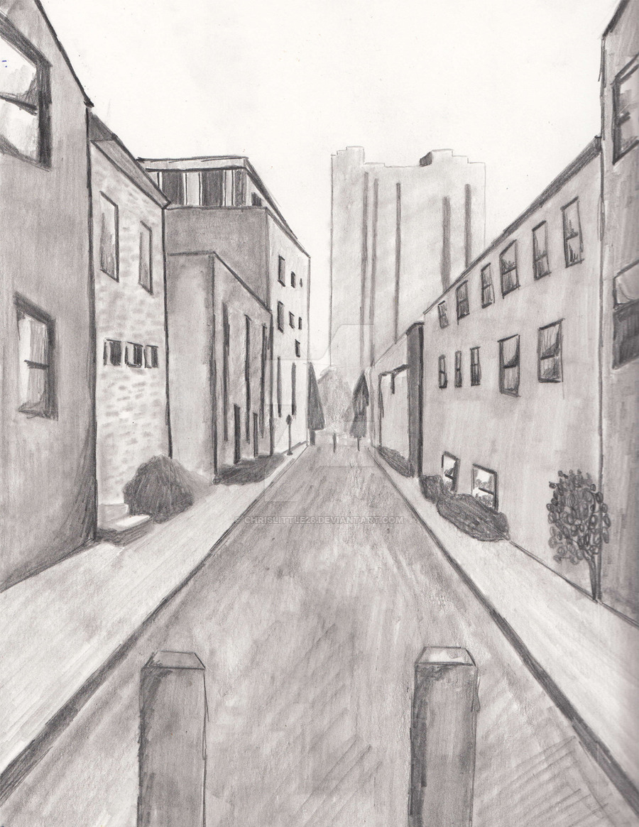 Drawn scenic cityscape Chrislittle26 chrislittle26 on by by