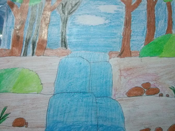 Drawn scenic class 4 1 to Uploaded Draw (with