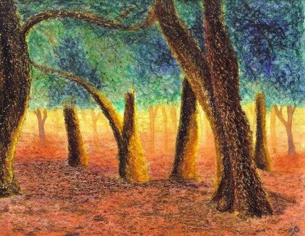 Drawn scenery crayon On My My Crayon Sanctuarii