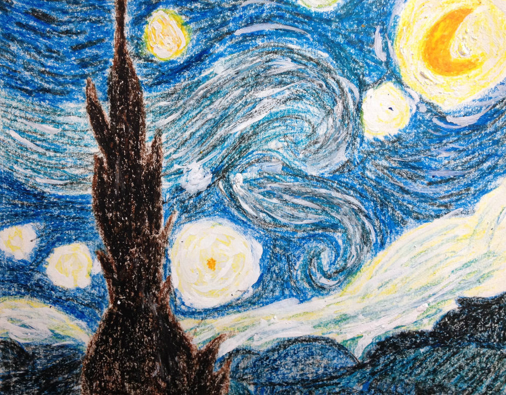 Drawn scenic crayon Crayon by Starry DarkChocolateKisses of