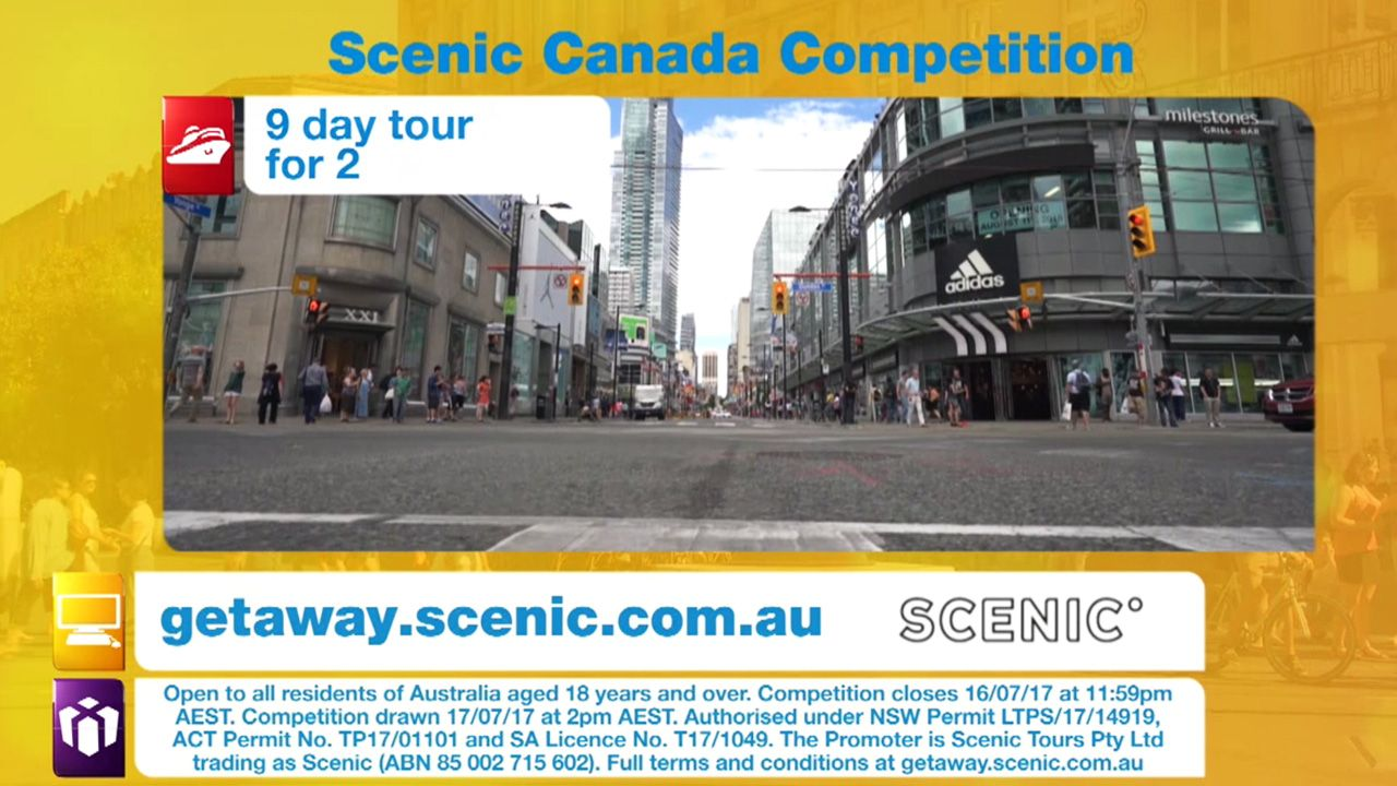 Drawn scenic day Getaway Scenic Competition Canada