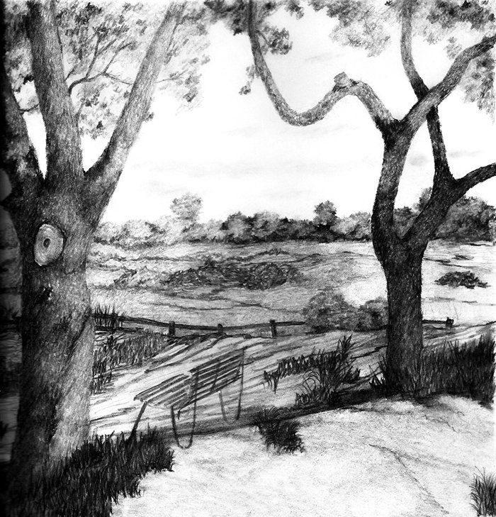 Drawn scenic day More best Pinterest Pencil this
